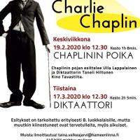 Hämeenlinnan kirjasto tempaisee Chaplinilla